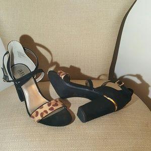 Leopard heel  sz.9